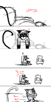 Furry Situation Deleted Scene 1 - This isn't mine. by Ipku