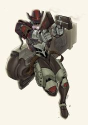 Mecha-Grave:FullAction.Colour. by theCHAMBA