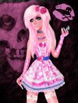 Pink Darkness by kharis-art