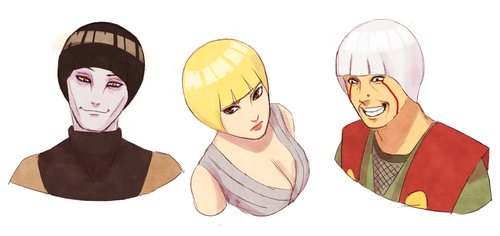 Bowl cut (sannin) by steampunkskulls