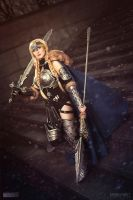 Margaret as Valkyrie from Marvel comics COSPLAY by MargaretCosplayArt