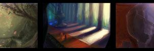 Speed Painting Thumbnails 01 by DM7