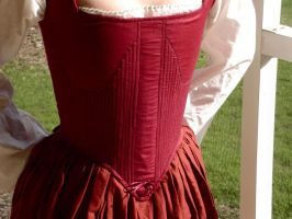 Hand Sewn 16th Century Corset5 by CenturiesSewing