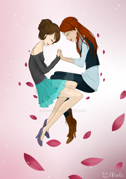Original Characters- Enchanted Love by Floralix