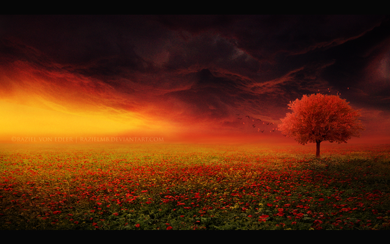The red tree by GeneRazART
