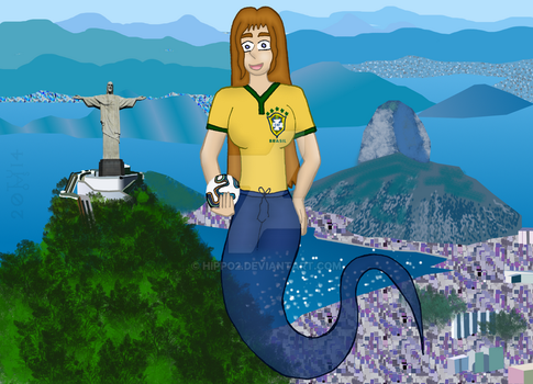 Genies of the World: Brazil by hippo2