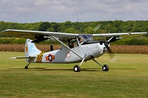 Cessna O-1E Bird Dog by Daniel-Wales-Images