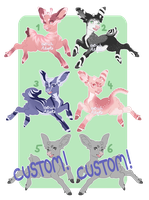 Deer Adopts [ 4/6 OPEN ] by OstrichAdopts