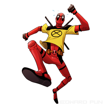 Deadpool  Xmen  Trainee by pungang