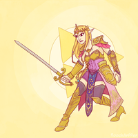 Zelda by RoochArffer