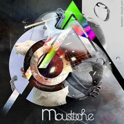 Moustache CD by sensukestudio