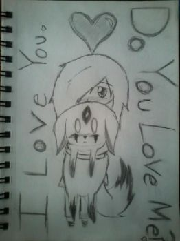 I love you, Do you love me?.. by LittleRinnyKagamine