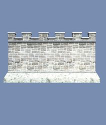 Castle Stock Parts #20 build side wall sections by madetobeunique