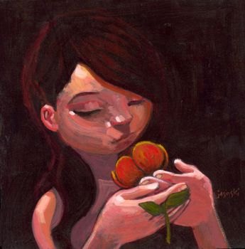 Rose Pedal Glow by jasinski