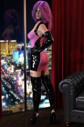 Vegas Latex Escort by Raxatech