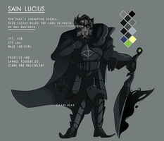 REFERENCE - Sain Lucius by CharliOak