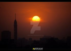 Sunset Over Cairo ::1:: by MaStErOfCaRz