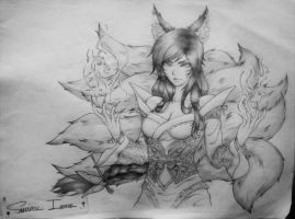 Ahri -League Of Legends- by TheGamer360