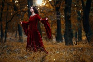 Autumn is here... by LucreciaMortishia