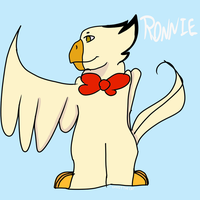 novo personagem:Ronnie by ghostthecat001