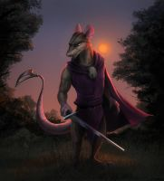 Cluny the Scourge (Redwall) by Temiree