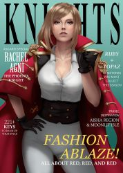 7 Knights Magazine - Rachel by dinotje