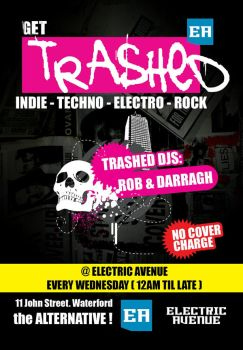 Get Trashed Flyer by matu666