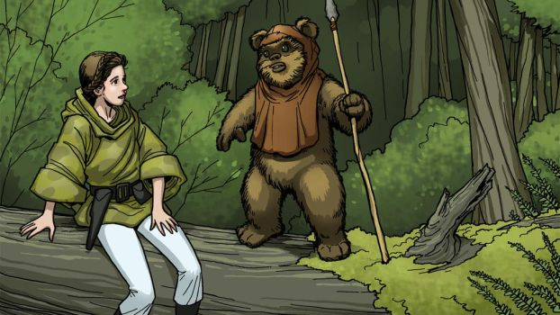 Leia Wicket Color by MichaelMetcalf