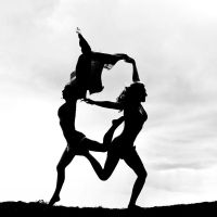 Silhouette Duet by clashed