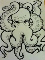 Octopus flash by BrokenedGallows