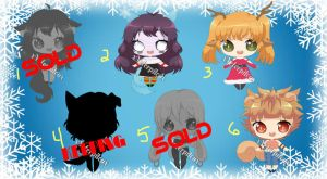 Holiday Adopts (OPEN) Set Price 3/6 by Neopalitan