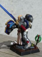 Astral  Claws Sargeant - Power Sword side by godjano