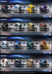 Intergalactic Football League NFC by uxorious