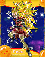 DB Heroes JM Note ssj3 V4 by Metamine10