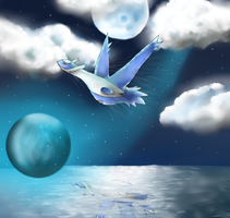 Latios's Flight