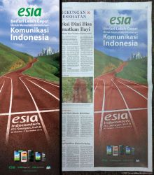Esia Corporate Print ad by idhuy