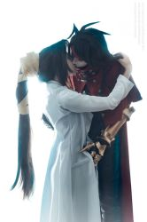 FFVII: Dirge of Cerberus - Lucrecia and Vincent by LadyxZero