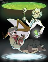 Mad Scientists by akaJellyGirl
