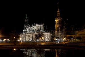 Dresden at Night by Tappava