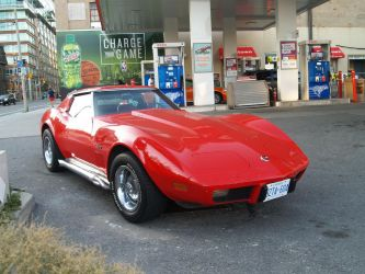Big Red Corvette VIII by Neville6000