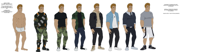 Brutus Outfit Reference by SpiderRen