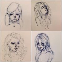 Some sketches))) by JuShyArt