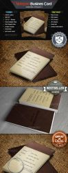 Notepad Business Card by Twist3dDNA
