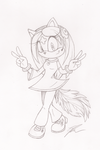 Sketch Commission - 2 by SonicBornAgain