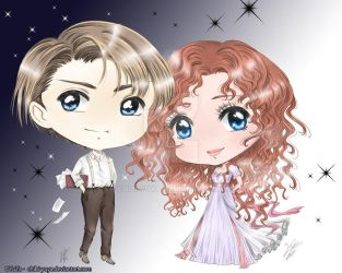 Jack and Rose Dawson by Chibi-YuYa