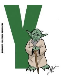 Y is for Yoda by Inspector97