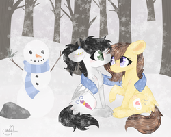[C] Winter Snuggles by CandyCrusher3000