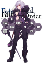 Jeanne d'Arc Alter Rainmeter by Kaza-SOU
