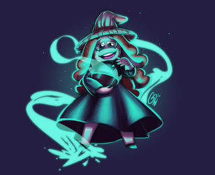 Witchy Arumi by HyperChronic