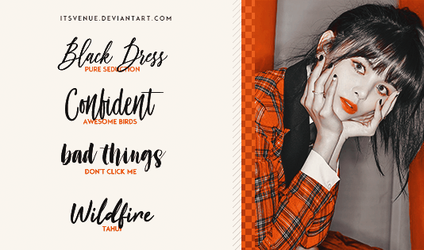 FONTS PACK #08 by itsvenue